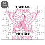 I Wear Pink for my Nanny Puzzle