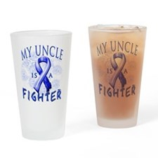 My Uncle Is A Fighter Drinking Glass