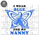 I Wear Blue for my Nanny Puzzle