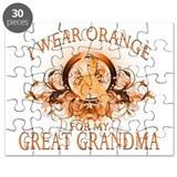 I Wear Orange for my Great Gr Puzzle