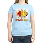 40th Birthday Women's Pink T-Shirt