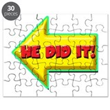 He Did It! Puzzle