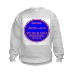 Real Men Kids Sweatshirt