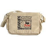 Retinoblastoma Survivor Messenger Bag