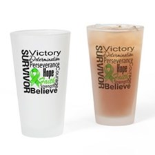 Non-Hodgkins Survivor Drinking Glass
