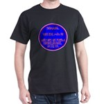 Real Men Black T-Shirt