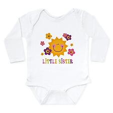 Sunny Little Sister Long Sleeve Infant Bodysuit
