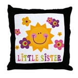 Sunny Little Sister Throw Pillow