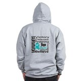 Gynecologic Cancer Survivor Zip Hoody