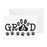 Grad 2012 Paws Greeting Cards (Pk of 20)