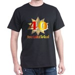 40th Birthday Black T-Shirt