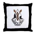 Rhodesian African Rifles Throw Pillow