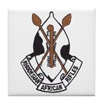 Rhodesian African Rifles Tile Coaster