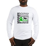 Bile Duct Cancer Survivor Long Sleeve T-Shirt