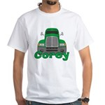 Trucker Corey White T-Shirt