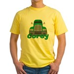 Trucker Corey Yellow T-Shirt