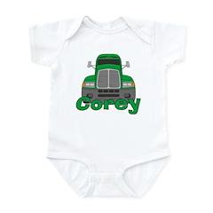 Trucker Corey Infant Bodysuit