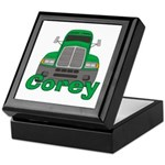 Trucker Corey Keepsake Box