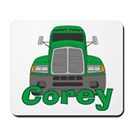 Trucker Corey Mousepad