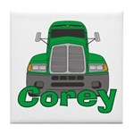 Trucker Corey Tile Coaster