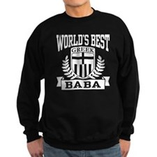 World's Best Greek Baba Sweatshirt