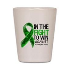 In The Fight MITO Awareness Shot Glass