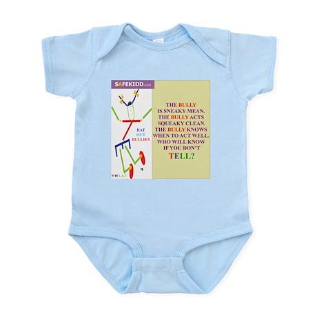 Bully Sneaky/TELLI Infant Bodysuit