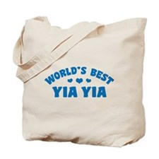 World's Best Yia Yia Tote Bag