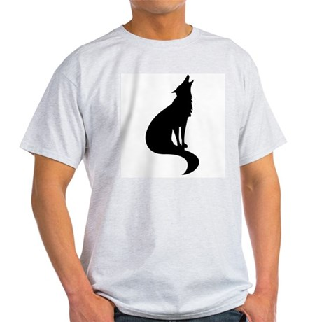 Black Wolf Ash Grey T-Shirt