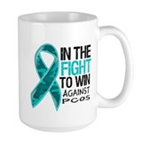 In The Fight PCOS Awareness Mug