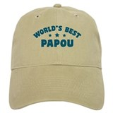 World's Best Greek Papou Baseball Cap