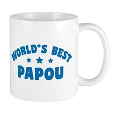 World's Best Greek Papou Mug