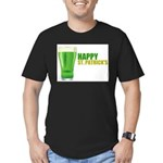St Patricks Day Men's Fitted T-Shirt (dark)