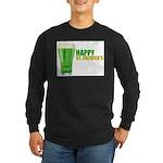 St Patricks Day Long Sleeve Dark T-Shirt