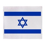 Flag of Israel Throw Blanket