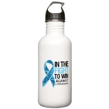 In The Fight Lymphedema Sports Water Bottle
