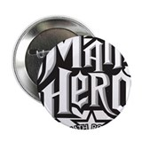 "Math Hero - Math Rocks! 2.25"" Button"