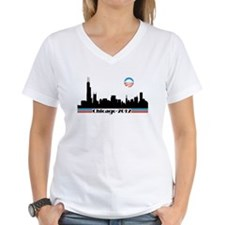 Obama 2012 Chicago Skyline Shirt