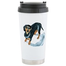 Dachshund Sophie Ceramic Travel Mug