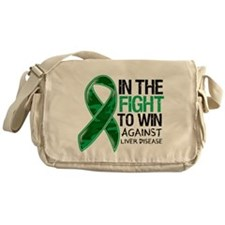 In The Fight Liver Disease Messenger Bag