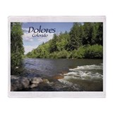 Dolores Colorado Throw Blanket