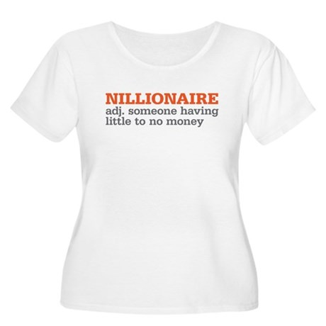 nillionaire Women's Plus Size Scoop Neck T-Shirt