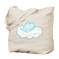 Elephant Dream (blue) Tote Bag