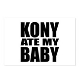 Kony Ate My Baby Postcards (Package of 8)