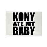 Kony Ate My Baby Rectangle Magnet (10 pack)