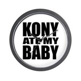 Kony Ate My Baby Wall Clock