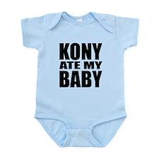 Kony Ate My Baby Infant Bodysuit