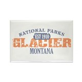Glacier National Park Montana Rectangle Magnet (10