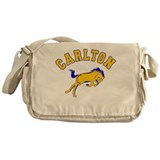 Carlton School Mustangs Messenger Bag