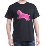 Airedale Terrier Black T-Shirt